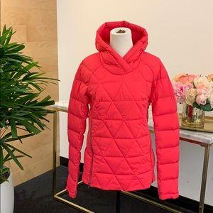 Pink Lululemon Fluffed Pullover Jacket